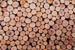 De houten achtergrond van de logboektextuur Royalty-vrije Stock Foto's