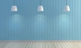 De houten achtergrond van de pastelkleurmuur Stock Foto