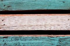 De houten achtergrond van de patroon oude kleur Stock Foto's