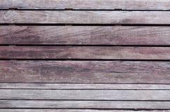 De houten achtergrond van de plank bruine textuur Stock Foto