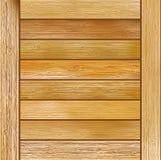 De houten achtergrond van de plank bruine textuur. + EPS8 Royalty-vrije Stock Fotografie