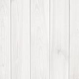 De houten achtergrond van de plank witte textuur Stock Afbeelding