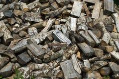 De houten Achtergrond van de Stapel Stock Foto's