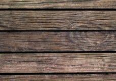 De houten achtergrond van Grunge Natuurlijke houten textuur met horizontale lijnen Royalty-vrije Stock Foto's