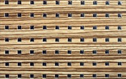 De houten achtergrond van het vierkantenontwerp stock foto's