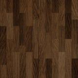 De houten achtergrond van het vloer donkere bruine parket Royalty-vrije Stock Foto's