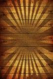 De houten Achtergrond van Stralen Stock Foto