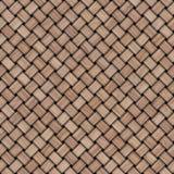 De houten achtergrond van de weefseltextuur Abstracte decoratieve houten geweven mandewerkachtergrond Naadloos patroon Royalty-vrije Stock Fotografie