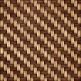 De houten achtergrond van de weefseltextuur Abstracte decoratieve houten geweven mandewerkachtergrond Naadloos patroon Royalty-vrije Stock Foto's