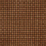 De houten achtergrond van de weefseltextuur Abstracte decoratieve houten geweven mandewerkachtergrond Naadloos patroon Stock Foto