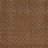 De houten achtergrond van de weefseltextuur Abstracte decoratieve houten geweven mandewerkachtergrond Naadloos patroon Royalty-vrije Stock Afbeeldingen