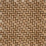 De houten achtergrond van de weefseltextuur Abstracte decoratieve houten geweven mandewerkachtergrond Naadloos patroon Stock Afbeeldingen