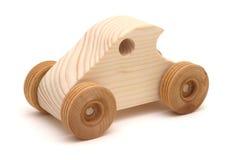De houten Auto van het Stuk speelgoed Royalty-vrije Stock Afbeelding