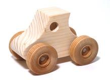 De houten Auto van het Stuk speelgoed Royalty-vrije Stock Afbeeldingen