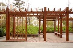 De houten bouw stock afbeelding