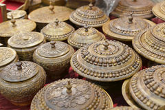 De houten container van Pakistan Royalty-vrije Stock Foto