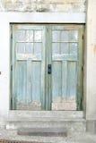 De houten deur Royalty-vrije Stock Foto's
