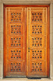 De houten Deur van de Ingang Royalty-vrije Stock Afbeeldingen