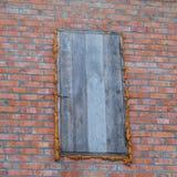 De houten deur van de zolder royalty-vrije stock foto
