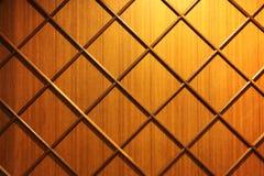 De houten Diagonale Muur van de Strook Royalty-vrije Stock Afbeelding