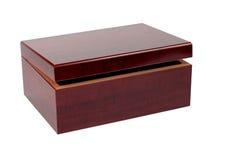 De houten doos van Lackered Royalty-vrije Stock Foto