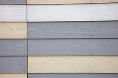 De houten Effect Geweven Bekleding van pvc Stock Foto