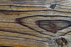 De houten foto van de plank dichte omhooggaande textuur met twee cirkeltekens Stock Fotografie