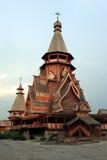 De houten kerk Royalty-vrije Stock Afbeeldingen