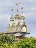 De houten kerk van St George van de XVII eeuw, Kolomenskoye, Moskou Royalty-vrije Stock Afbeeldingen