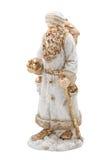 De houten Kerstman Royalty-vrije Stock Foto
