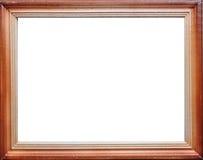 De houten Lege Grens van het Frame royalty-vrije stock afbeelding