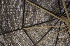De houten paraplu Stock Fotografie