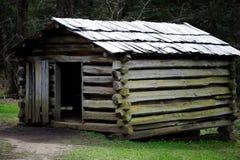 De houten schuurbouw Stock Fotografie