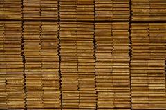 De houten sectie Royalty-vrije Stock Afbeeldingen