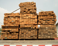 De houten stapel bindt Royalty-vrije Stock Foto