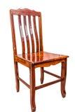 De houten stoel isoleert Royalty-vrije Stock Foto