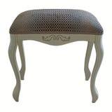 De houten stoel van de bedkruk Royalty-vrije Stock Foto's