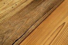 De houten textuur in antiquiteit ziet eruit royalty-vrije stock foto's