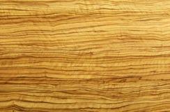 De houten textuur van de olijf Stock Foto's