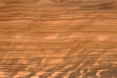 De houten textuur van de olijfboom Stock Foto