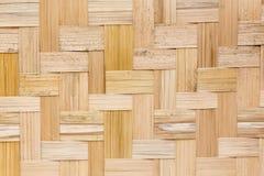 De houten textuur van het bamboe stock fotografie