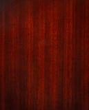 De houten textuur van het mahonie Stock Fotografie