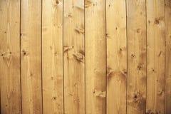 De houten textuurachtergrond, houten panelen sluit omhoog Grunge geweven beeld Verticale strepen Royalty-vrije Stock Afbeeldingen