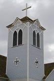 De houten toren van de Kerk Royalty-vrije Stock Afbeelding