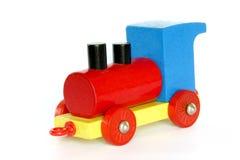 De houten Trein van het Stuk speelgoed Royalty-vrije Stock Fotografie