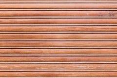 De houten uitstekende blinde textuur van het latvenster Royalty-vrije Stock Foto's