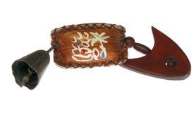 De houten vissen van het ambacht Stock Foto