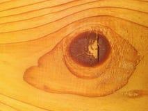 De houten vorm van het oogcijfer Royalty-vrije Stock Foto