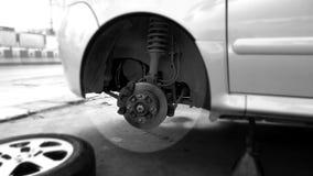 De hub van het autowiel Stock Foto's