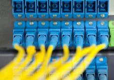 De hub van het netwerk Stock Afbeelding